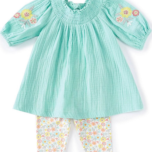 Bonnie Jean Bubble Tunic 2PC Set