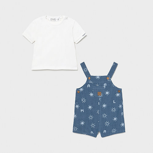 Mayoral Sunny Overall Set