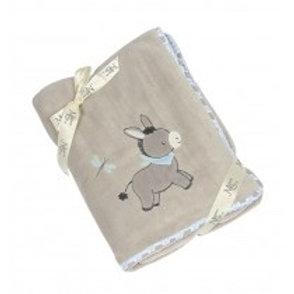 Maison Chic Dandy the Donkey Plush Blanket