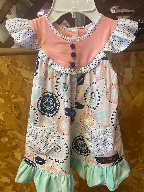 Millie Jay Geo Flower Dress