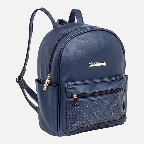 Mayoral Leather Backpack Diaper Bag