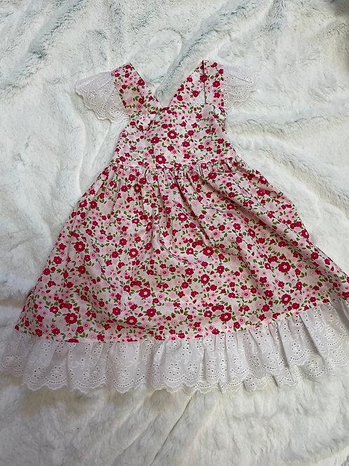 Millie Jay Floral Apron Dress