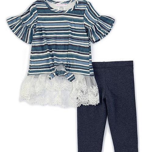 Bonnie Jean Stripes 2PC Set