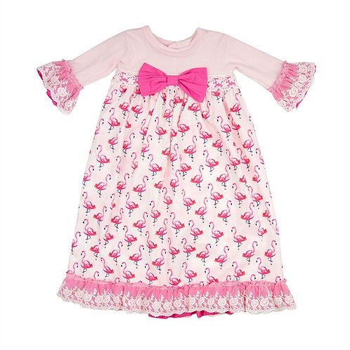 FLAMINGO PARADE TAKE-ME-HOME GOWN