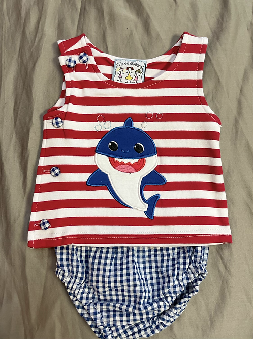 Three Sisters Baby Shark 2PC Set