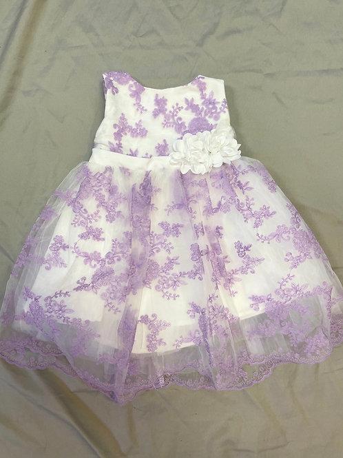 Popatu Purple Floral Dress