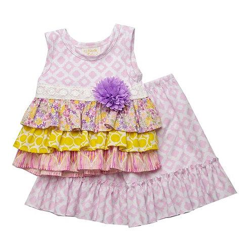 Haute Baby Lavender Haze Swing Set