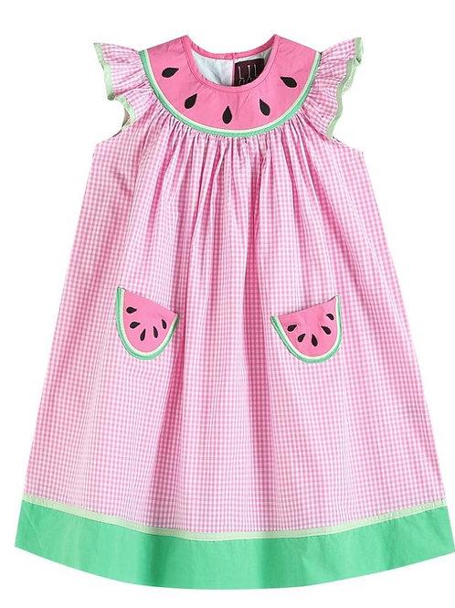 Lil Cactus Watermelon Dress