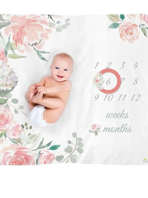 Itzy Ritzy Cutie Captures Milestone Blanket