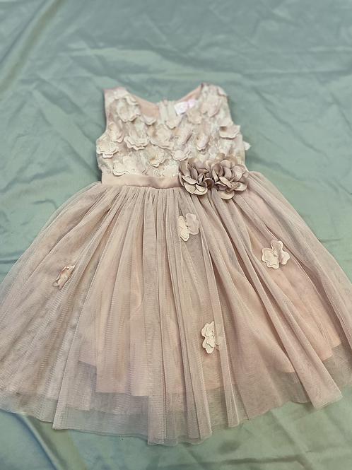 Popatu Mauve Floral Dress