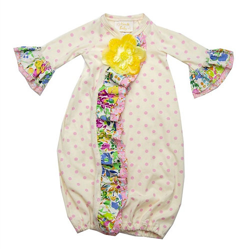 Haute Baby Daisy Bloom Take-Me-Home Gown Set