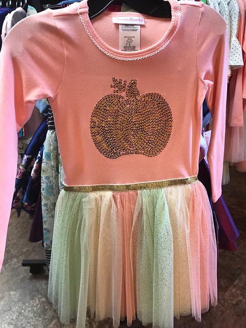 Bonnie Jean Pumpkin Tutu Dress