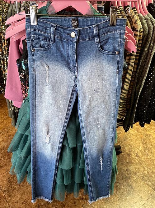 Deux par deux Distressed Skinny Jeans