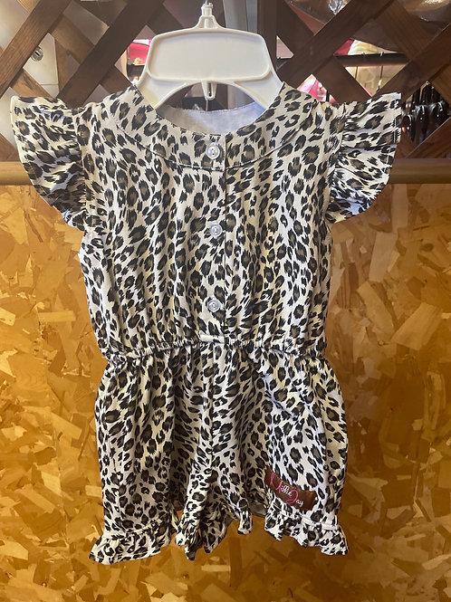 Millie Jay Leopard Romper