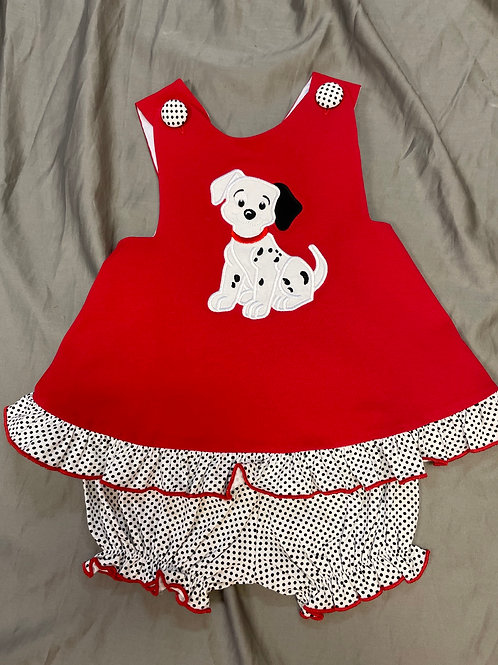 Three Sisters Puppy Cross Back 2PC Set