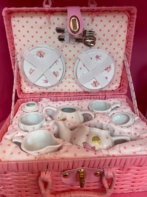 Delton Fine Collectible Play Tea Set