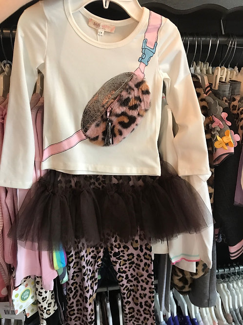 Baby Sara Leopard Fanny Pack 2PC Set