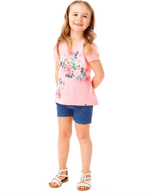 Norük Floral Tshirt 2PC Set