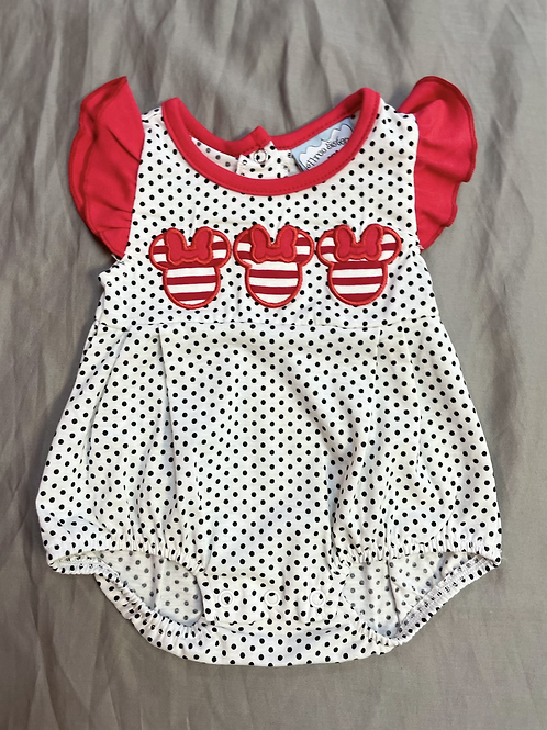 Three Sisters Mini Mouse Romper