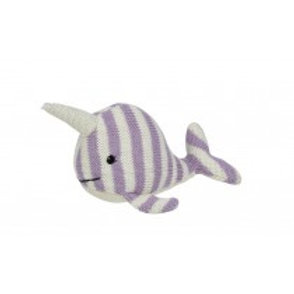 Maison Chic Nina the Narwhal Rattle