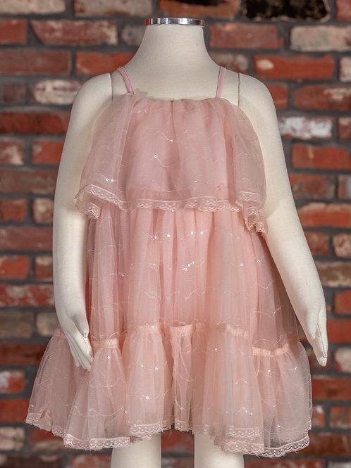 M.L. Kids Tulle Tank Dress