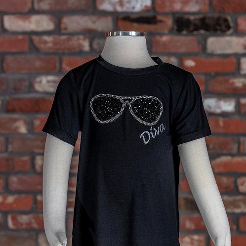 M.L. Kids Diva T-shirt