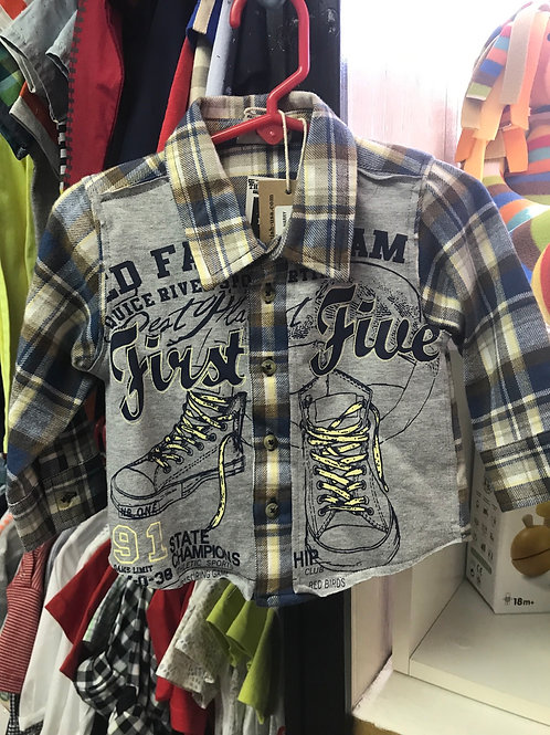Mish Boys First Five Flannel