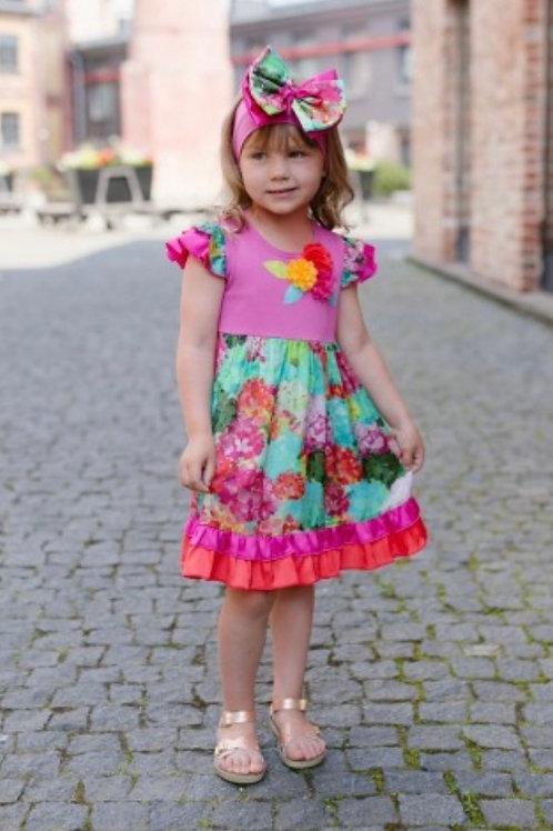 Z.A.Z.A Couture Claude Monet Dress