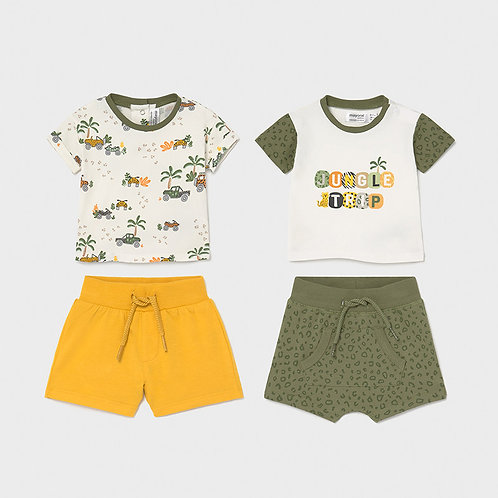 Mayoral Safari 4PC Set