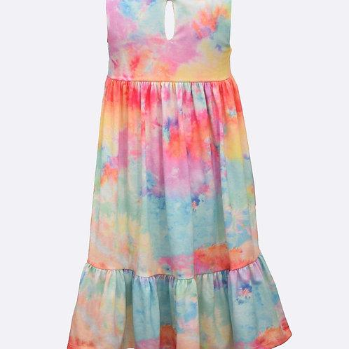 Bonnie Jean Rae Tie Dye Dress