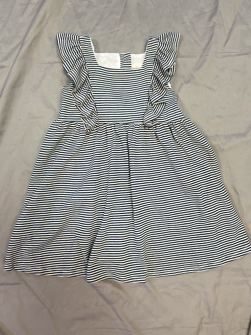 Mable + Honey Navy Stripes Dress