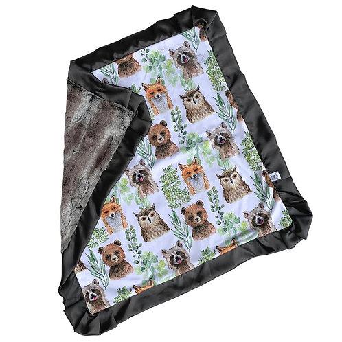 Rockin Royalty Woodland Blanket