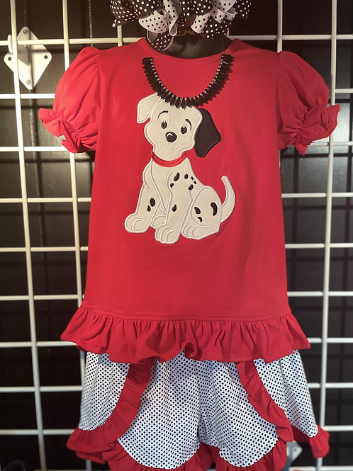 Three Sisters Puppy 2PC Short Set
