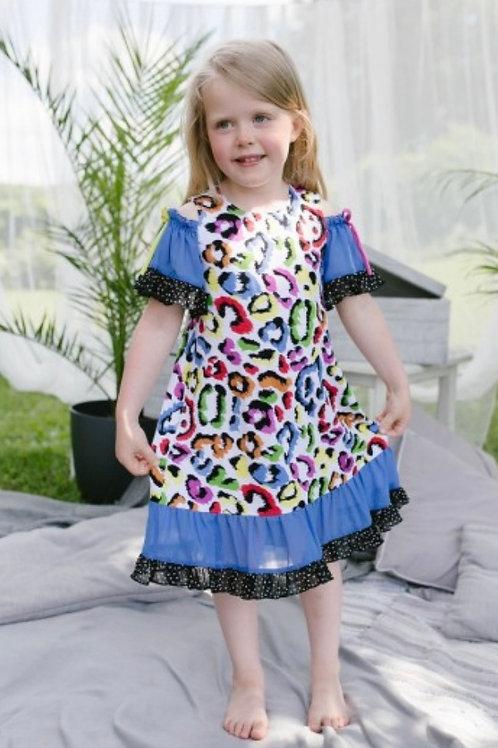 Z.A.Z.A Couture Cheetah Dress