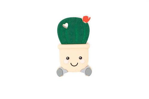 Three Hearts Cactus Teether