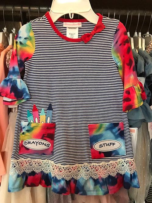 Bonnie Jean Crayon Dress