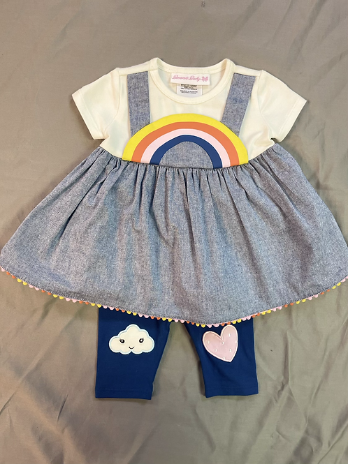 Bonnie Jean Rainbow 2PC Set