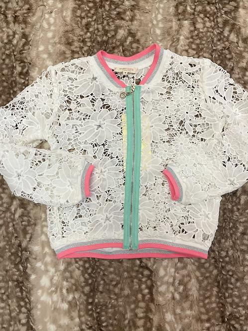 Baby Sara Lace Bomber Jacket