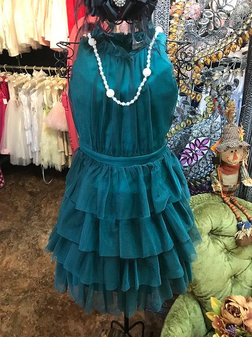 Hannah Banana Jade Tulle Dress