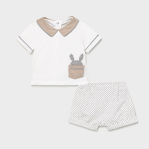 Mayoral Boy's Bunny 2PC Set