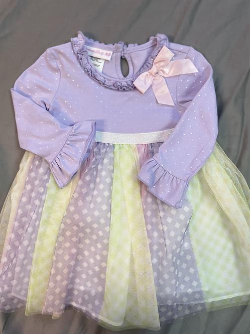 Bonnie Jean Pastel Easter Dress