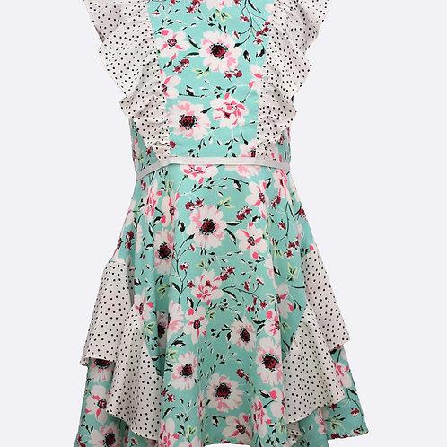 Bonnie Jean Mikayla Floral Dress