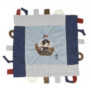 Maison Chic Pete the Pirate Monkey Multifunctional Blankie