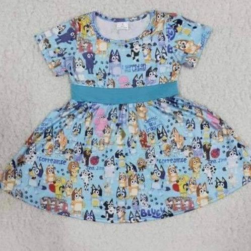 Bluey Character Dress