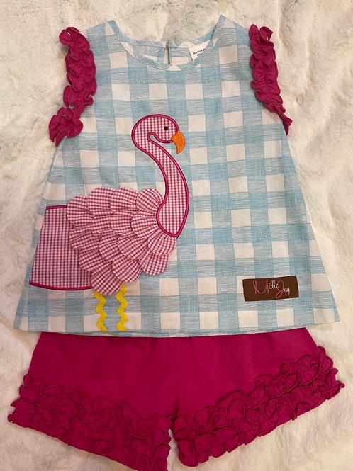 Millie Jay Flamingo 2PC Set