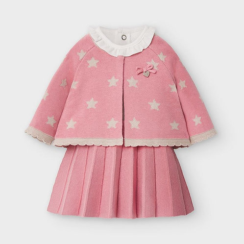Mayoral Pink Blossom 3PC Set