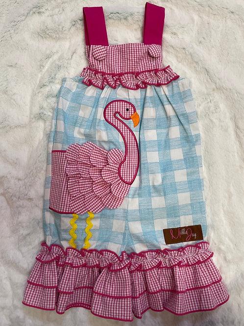 Millie Jay Flamingo Romper