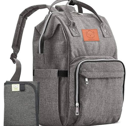 KeaBabies Original Backpack Diaper Bag