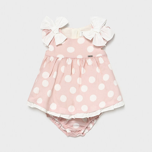 Mayoral Sweet Dots Dress w/Bloomers