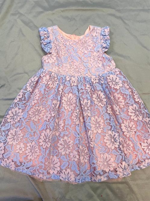 Popatu Floral Lace Dress
